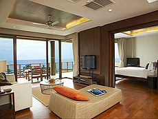 サムイ島 2ベッドルームのホテル : シャサ リゾート & レジデンス コ サムイ(1)のお部屋「シービュースイート(3ベッドルーム)」