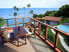 サムイ島 2ベッドルームのホテル : シャサ リゾート & レジデンス コ サムイ(1)のお部屋「デラックス シービュースイート(3ベッドルーム)」