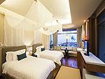 サムイ島 2ベッドルームのホテル : シャサ リゾート & レジデンス コ サムイ(ShaSa Resort & Residences Koh Samui)のシャサ ビーチフロント プールヴィラルームの設備 Bedroom