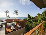 サムイ島 2ベッドルームのホテル : シャサ リゾート & レジデンス コ サムイ(ShaSa Resort & Residences Koh Samui)のシャサ ビーチフロント プールヴィラルームの設備 Balcony