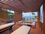 サムイ島 2ベッドルームのホテル : シャサ リゾート & レジデンス コ サムイ(ShaSa Resort & Residences Koh Samui)のシャサ ビーチフロント プールヴィラルームの設備 Terrace