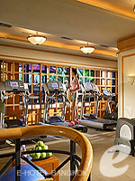 Fitness Gym : Sheraton Grande Sukhumvit, with Spa, Phuket