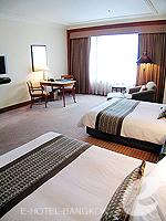 バンコク スクンビットのホテル : シェラトン グランデ スクンビット(Sheraton Grande Sukhumvit)のデラックスルームの設備 Bedroom