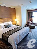 バンコク スクンビットのホテル : シェラトン グランデ スクンビット(Sheraton Grande Sukhumvit)のグランデ スイートルームの設備 Bedroom