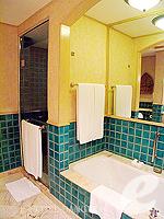 バンコク スクンビットのホテル : シェラトン グランデ スクンビット(Sheraton Grande Sukhumvit)のグランデ スイートルームの設備 Bath Room