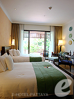 Bedroom : Ocean View Room (6000-9000บาท) โรงแรมในพัทยา, ประเทศไทย