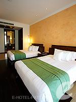 パタヤ サウスパタヤのホテル : インターコンチネンタル パタヤ リゾート(Inter Continental Pattaya Resort)のオーシャン ビュー ルームルームの設備 Bedroom