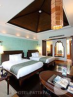 Bedroom : Deluxe Pavilion Garden (6000-9000บาท) โรงแรมในพัทยา, ประเทศไทย