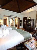 パタヤ サウスパタヤのホテル : インターコンチネンタル パタヤ リゾート(Inter Continental Pattaya Resort)のデラックス パビリオン ルーム ルームの設備 Bedroom