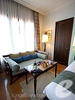パタヤ サウスパタヤのホテル : インターコンチネンタル パタヤ リゾート(Inter Continental Pattaya Resort)のデラックス パビリオン ルーム ルームの設備 Sitting Area