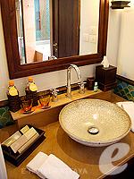 Bathroom : Deluxe Pavilion Garden (6000-9000บาท) โรงแรมในพัทยา, ประเทศไทย