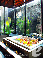 Flower Bath / Siam @ Siam Design Hotel & Spa, สยามประตูน้ำ