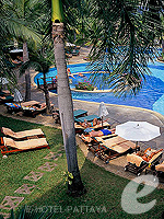 Garden Pool : Siam Bayshore Resort & Spa, Ocean View Room, Phuket