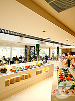 Buffet : Siam Bayshore Resort & Spa, Ocean View Room, Phuket