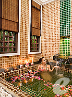 Spa Flower Bath : Siam Bayshore Resort & Spa, Ocean View Room, Phuket