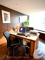 Business Center : Siam Bayshore Resort & Spa, Ocean View Room, Phuket