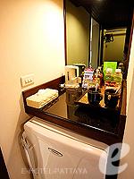 パタヤ オーシャンビューのホテル : サイアム ベイショア リゾート & スパ(Siam Bayshore Resort & Spa)のトロピカル デラックス(シングル)ルームの設備 Minibar