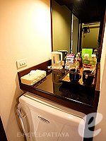 パタヤ オーシャンビューのホテル : サイアム ベイショア リゾート & スパ(Siam Bayshore Resort & Spa)のトロピカル デラックス (ツイン/ダブル)ルームの設備 Room View