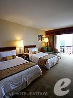 パタヤ オーシャンビューのホテル : サイアム ベイショア リゾート & スパ(Siam Bayshore Resort & Spa)のエグジクティブ デラックス(シングル)ルームの設備 Bedroom