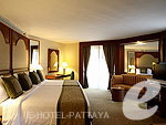パタヤ オーシャンビューのホテル : サイアム ベイショア リゾート & スパ(Siam Bayshore Resort & Spa)のデラックス スイートルームの設備 Room View