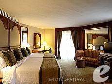 パタヤ オーシャンビューのホテル : サイアム ベイショア リゾート & スパ(1)のお部屋「デラックス スイート」