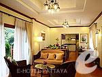 パタヤ オーシャンビューのホテル : サイアム ベイショア リゾート & スパ(Siam Bayshore Resort & Spa)のサイアム ヴィラルームの設備 Room View