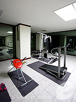 Fitness Gym : Sigma Resort Jomtien Pattaya, Long Stay, Phuket