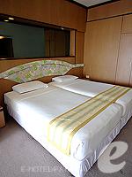 パタヤ ジョムティエンビーチのホテル : シグマ リゾート ジョムティエン パタヤ(Sigma Resort Jomtien Pattaya)のスーペリア ルームルームの設備 Bedroom