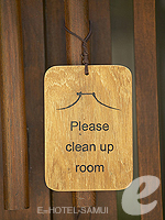 Door Sign : Silavadee Pool Spa Resort, Serviced Villa, Phuket