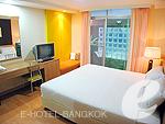バンコク シーロム・サトーン周辺のホテル : シーロム コンベント ガーデン 「Studio A」