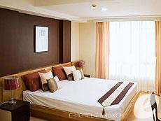 バンコク ファミリー&グループのホテル : シーロム コンベント ガーデン(Silom Convent Garden)のお部屋「スタジオ C」
