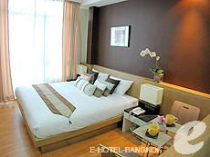 バンコク ファミリー&グループのホテル : シーロム コンベント ガーデン(Silom Convent Garden)のお部屋「スタジオ E 」