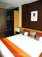 バンコク ファミリー&グループのホテル : シーロム コンベント ガーデン(Silom Convent Garden)のスタジオ B ルームの設備 Bedroom