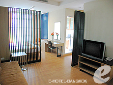 バンコク ファミリー&グループのホテル : シーロム コンベント ガーデン(Silom Convent Garden)のお部屋「スタジオ B 」