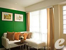 バンコク ファミリー&グループのホテル : シーロム コンベント ガーデン(Silom Convent Garden)のお部屋「1ベッドルーム G」