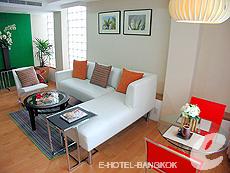 バンコク ファミリー&グループのホテル : シーロム コンベント ガーデン(Silom Convent Garden)のお部屋「1 ベッドルーム F 」