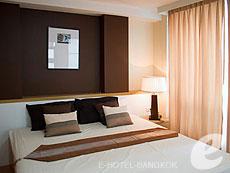 バンコク ファミリー&グループのホテル : シーロム コンベント ガーデン(Silom Convent Garden)のお部屋「2ベッドルーム D」