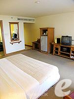 バンコク ファミリー&グループのホテル : シーロム セリーヌ(Silom Serene)のデラックス(シングル)ルームの設備 Bedroom