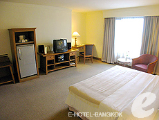 バンコク ファミリー&グループのホテル : シーロム セリーヌ(Silom Serene)のお部屋「デラックス(シングル)」