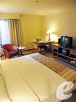 バンコク ファミリー&グループのホテル : シーロム セリーヌ(Silom Serene)のエグゼクティブ(シングル)ルームの設備 Bedroom