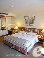 バンコク シーロム・サトーン周辺のホテル : シーロム セリーヌ(Silom Serene)の1ベッドルーム スイート(シングル)ルームの設備 Bedroom