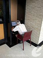 バンコク スクンビットのホテル : シルク バンコク 「Internet Corner」