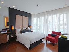 バンコク スクンビットのホテル : シルク バンコク(Silq Bangkok)のお部屋「スーペリア(ダブル)」