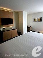 バンコク スクンビットのホテル : シルク バンコク(Silq Bangkok)のデラックスルームの設備 Bedroom