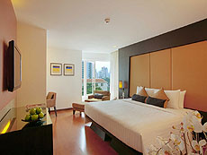 バンコク スクンビットのホテル : シルク バンコク(Silq Bangkok)のお部屋「デラックス」