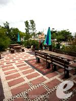 バンコク スワンナプーム空港周辺のホテル : シルバー ゴールド ガーデン スワンナプーム エアポート 「Restaurant」