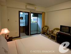 バンコク スワンナプーム空港周辺のホテル : シルバー ゴールド ガーデン スワンナプーム エアポート(Silver Gold Garden Suvarnabhumi Airport)のお部屋「スーペリアルーム(ルームオンリー)」