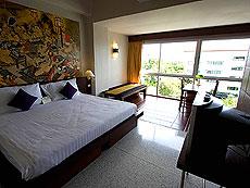 プーケット 5,000~10,000円のホテル : シノハウス ホテル プーケットタウン(1)のお部屋「シャンハイ デラックス」