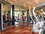 サムイ島 チョンモーンビーチのホテル : シックス センシズ サムイ 「Fitness Jim」