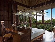 サムイ島 チョンモーンビーチのホテル : シックス センシズ サムイ(1)のお部屋「ハイダウェイ ヴィラ」